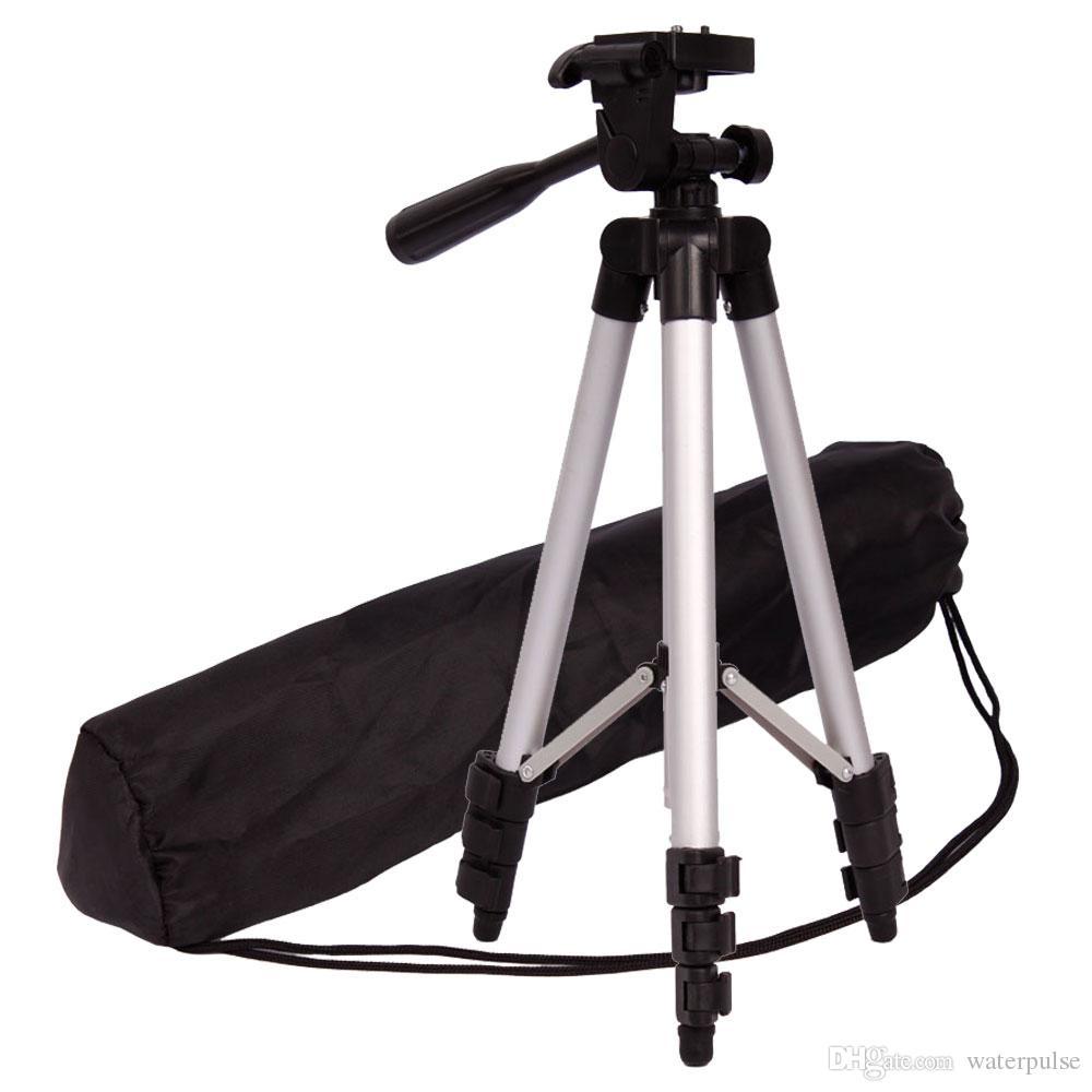 Камера штатив алюминиевая профессиональная видеокамера крепление ноги регулируемая подставка с гибкой головой для Canon Nikon DV DSLR видеокамеры GoPro Cam