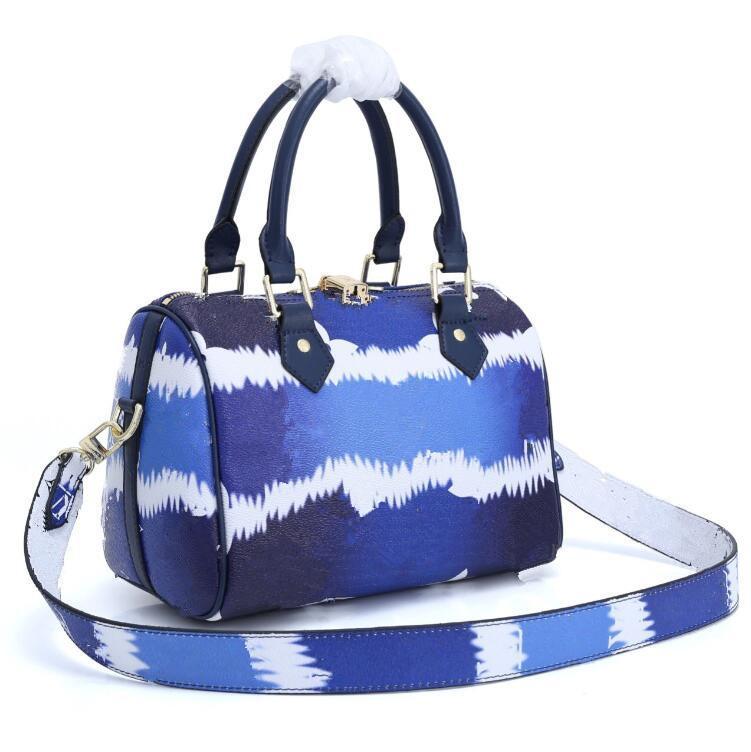 Taschen Casual Damen PU Designer Womens Tote Handtaschen Weibliche Geldbörsen Schulter Designer Leder Geldbörse Luxus Handtaschen Blume RDBNB