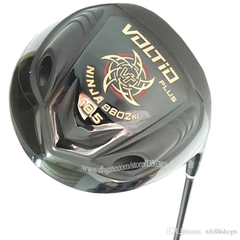 جديد نوادي الجولف السوداء كاتانا فولتيو بلس جولف سائق 9.5 أو 10.5 الأندية سائق الجولف الجرافيت رمح r أو s شحن مجاني