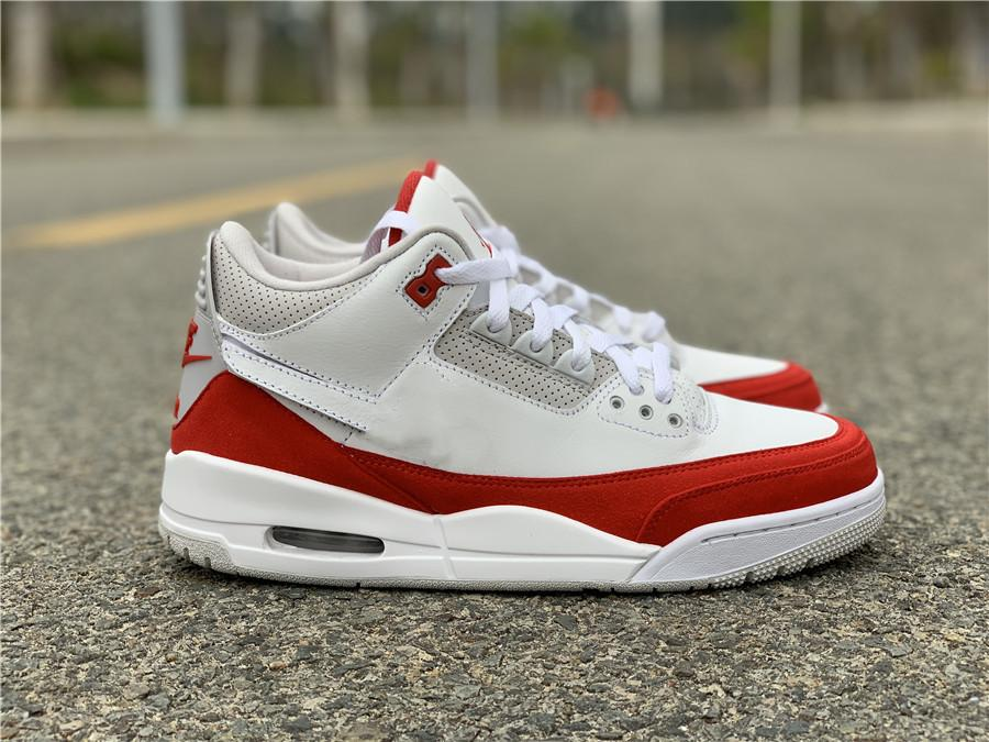 Yeni Erkekler 3S Basketbol Ayakkabı 3 3M Tinker Beyaz Kırmızı Tasarımcı Lüks Eğitmenler Spor Ayakkabıları Spor Üst Kalite Sneakers ile Kutusu