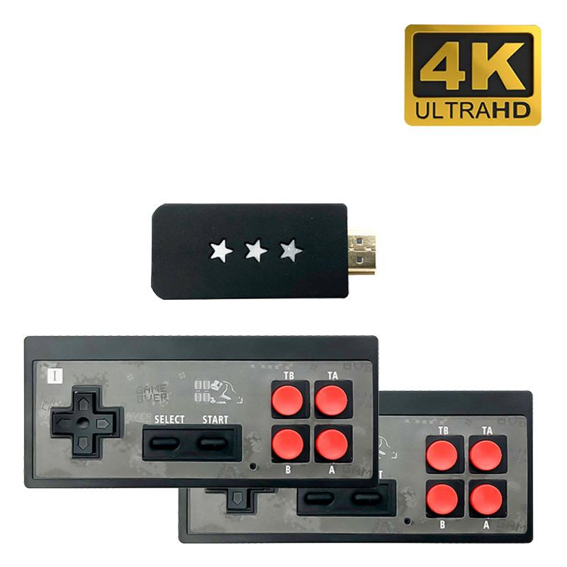 Y2 Retro Game Console Support 2 Players HDMI 4K HD Can Store 568 Classic Video Games USB Handheld Infrared Retro Gamepad Controller