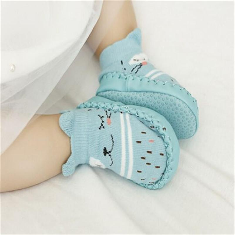 Infant First Walkers Leather Baby Shoes Cotton Newborn Toddler Boy Shoes Soft Sole Autumn Winter Babies for Baby Girl