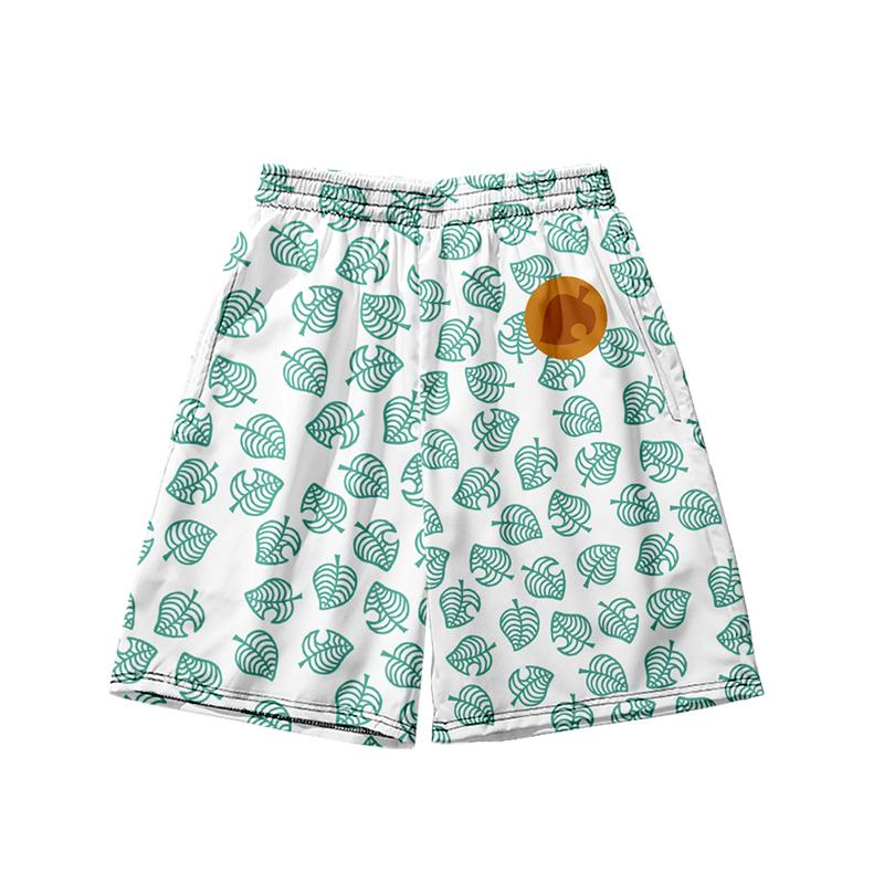 Wamni Animal Crossing shorts Casual Game Cosplay Shorts Man High Wint 3D Harajuku Beach Sexy Short Women's Clothing