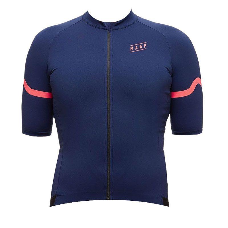 2019 Maap Team Cycling Mangas cortas Jersey Hombres Racing Bike Mountain Ropa Set Bicycle Ropa Uniforme U92716