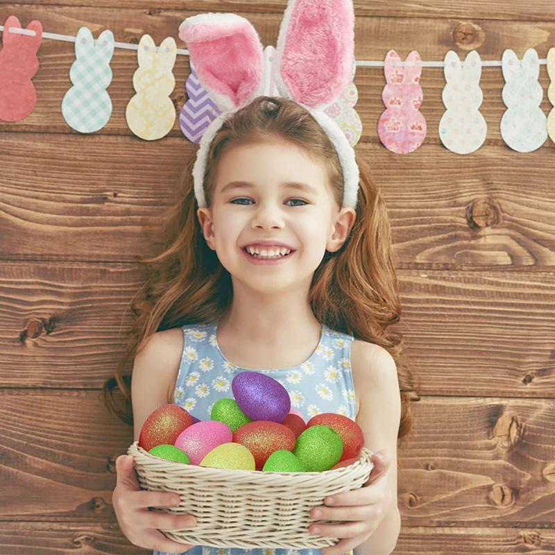 Forma fábrica Easter Egg Luz corda colorida bateria plug Caçoa o quarto férias Vanity Table Início Dormitório ornamento do feriado