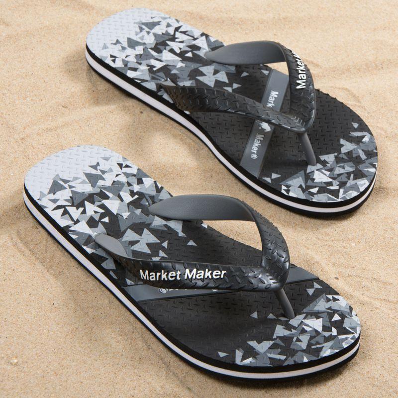 Летняя обувь Мужская мода Массаж Тапочки Покрытием Вьетнамки Мужской 2020 Новые пляжная обувь Flat Soft Light сандалии мужской обуви
