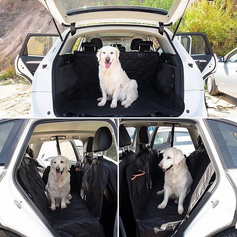 Asiento Oxford coche del animal doméstico del perro Portadores cubierta impermeable para la realizacion Gatos Perros Transportin Hamaca protector del amortiguador