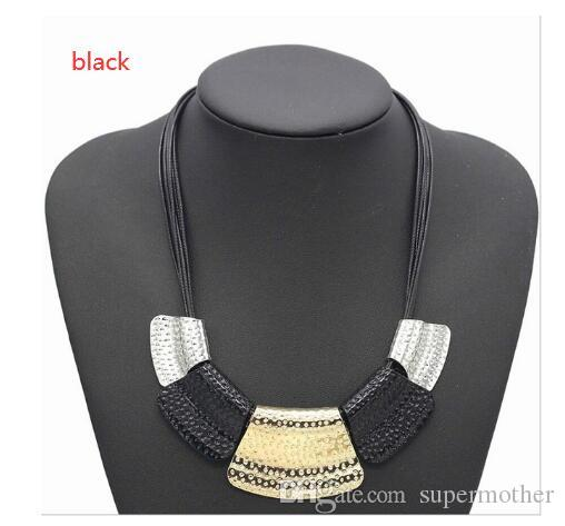 Find Me 2020 marca de moda geometria liga cadeia longa colar colar gargantilha vintage Boho declaração maxi colar de jóias mulheres