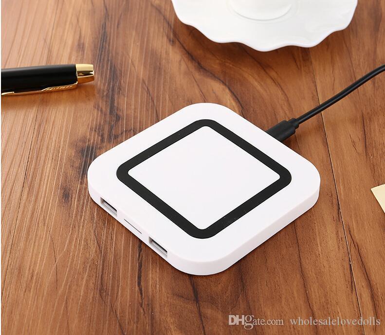 WP-S20 заряжать несколько телефонов одновременно Samsung S20 Ультра Apple, iPhone11 2USB порт мобильный телефон беспроводной зарядное устройство смарт-часы