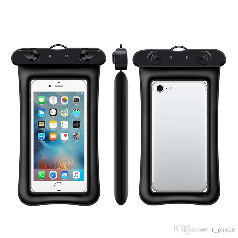Большинство Огнь плавающого водонепроницаемого мешок для iPhone X Samsung S10 сотового телефона водонепроницаемого мешка сухого до 6,0 дюйма по диагонали С талреп