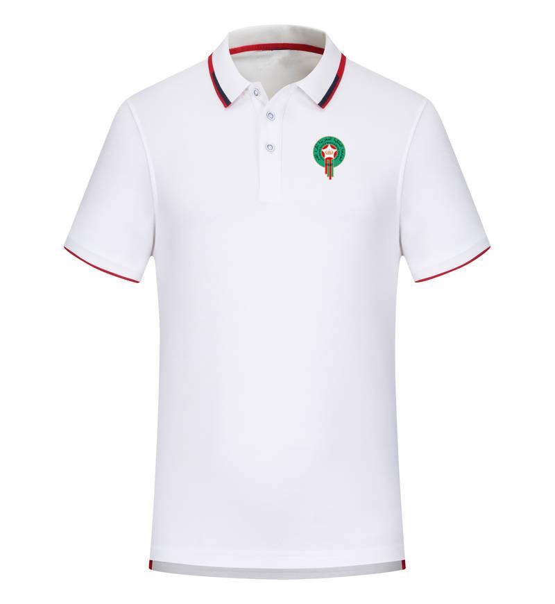 Marocco 2020 degli uomini della camicia della molla e nuovo calcio di estate del cotone Polo manica corta bavero polo può essere polo uomo personalizzati fai da te