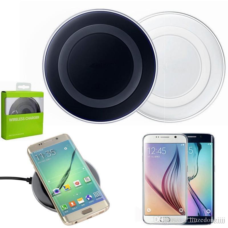 Samsung Galaxy S9 S8 S7 LG Google Iphone X 8 Plus için Verici ped Yüksek kalite şarj 250set S6 Qi kablosuz şarj