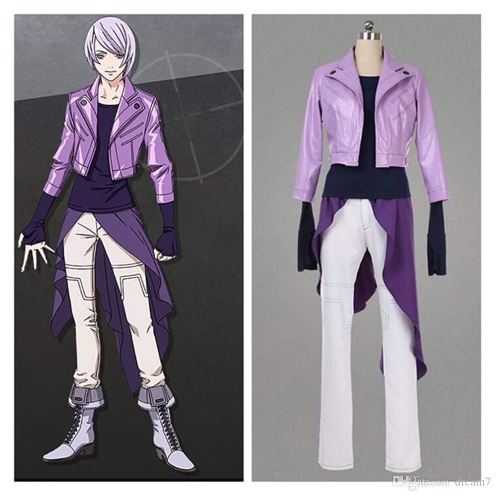 Double Decker! Doug & Kirill Police Officer Kirill Vrubel Cosplay Costume Anime