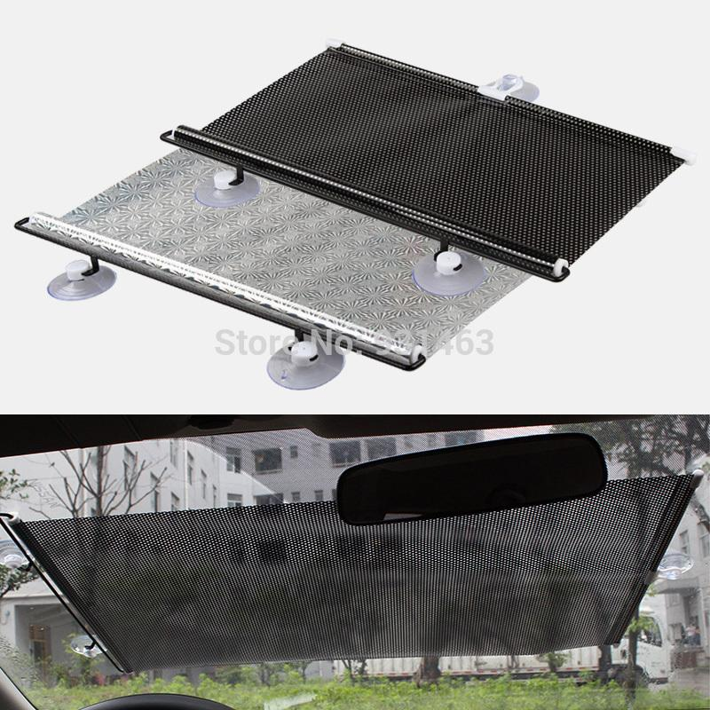 Universal Car Shade Curtain Auto Accessories Retractable Side Window Automatic Sunscreen Roller Blinds Window Film Custom Truck Accessories Customize