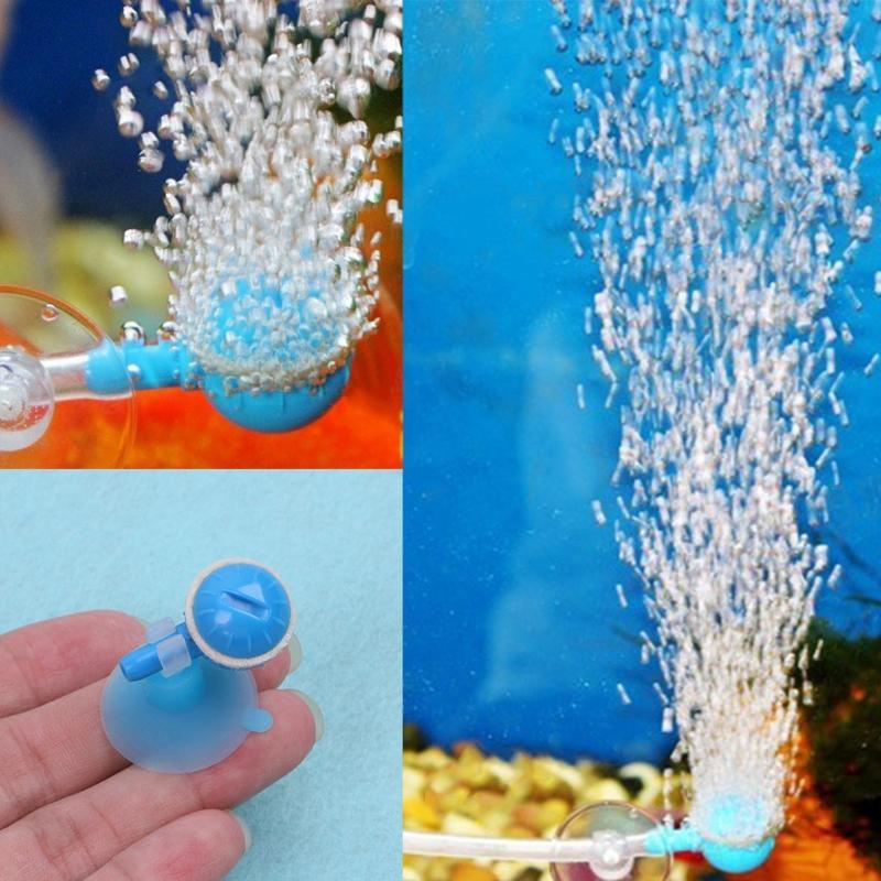 Acquario Air Bubble Aumentatore Fish Tank Oxygen Increase Ball Accessorio per pompa d'aria 10 pz / set