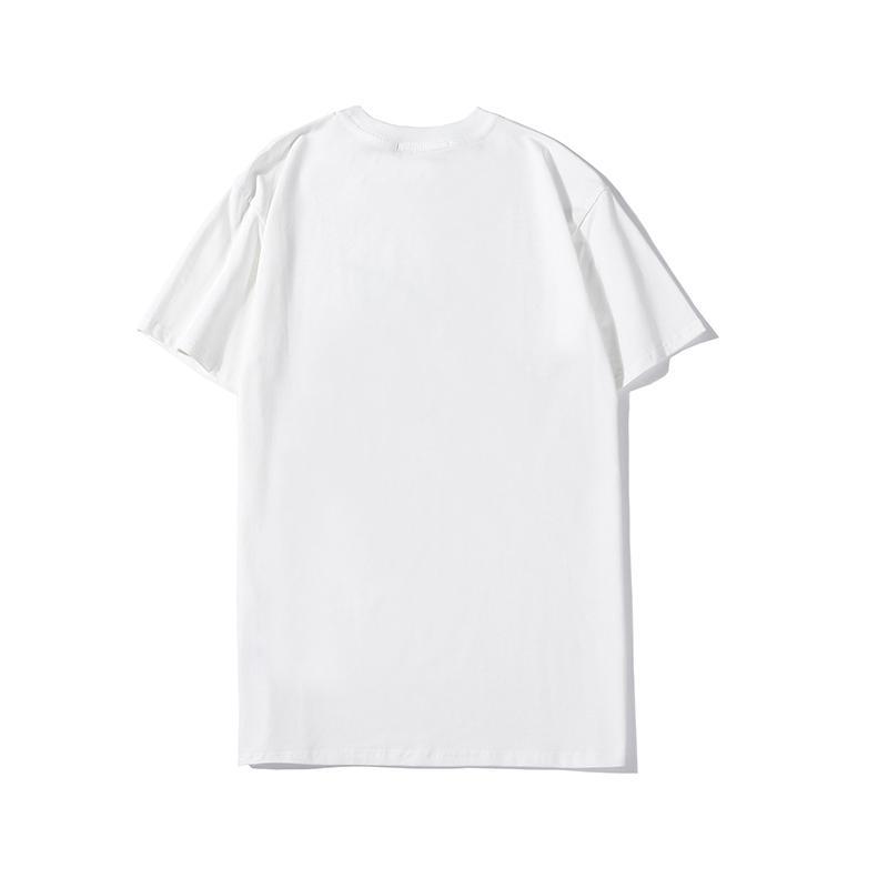Mens Shirt 20SS Hauts Marque T-shirts hommes et femmes chemise à manches courtes Lettre Vêtements imprimé ras du cou T-shirts Tops Designer Taille M-2XL