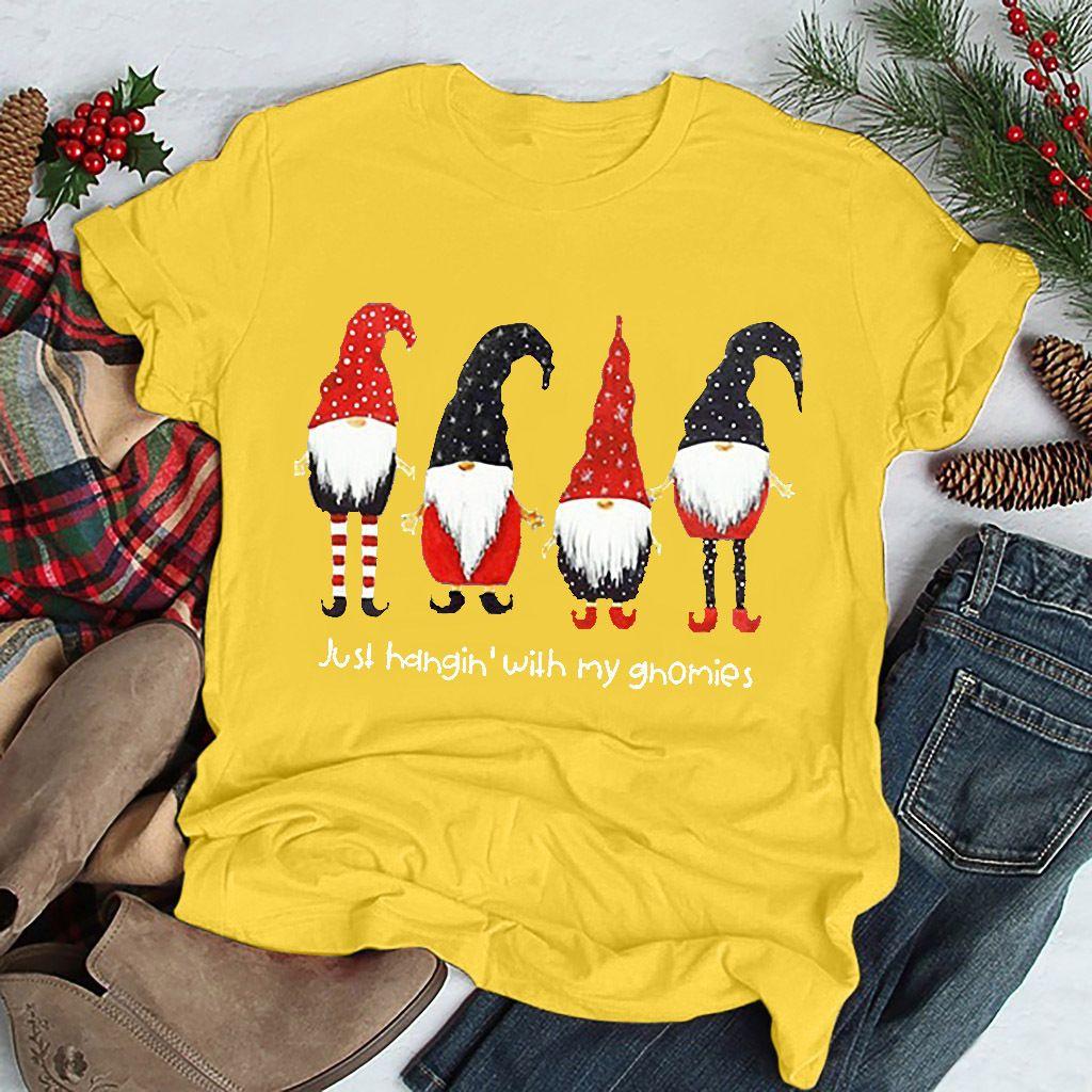 2019 The new trend Santa Claus Man Woman Short Sleeve CreT-Shirts Sideline Legend Pro Christmas Shirt Party Wearw Neck