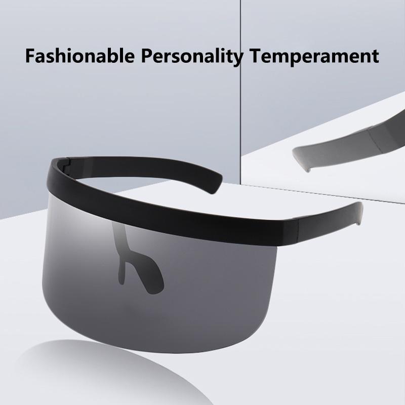 1 pièce. 2020 pare-soleil anti-UV voyeuse protection intégrée des lunettes de soleil hommes et les femmes mode des lunettes de soleil de protection solaire.