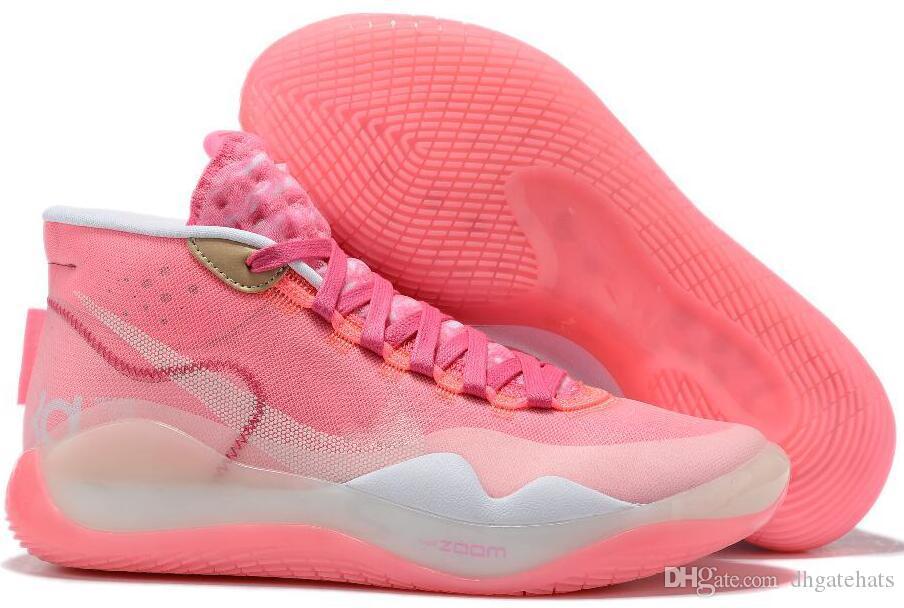 2020 Nova EYBL kevin durant kd Mulheres tênis de basquete KD 10 12 90 Oreo Multi-Cor mens formadores Sports Sneakers 36-40
