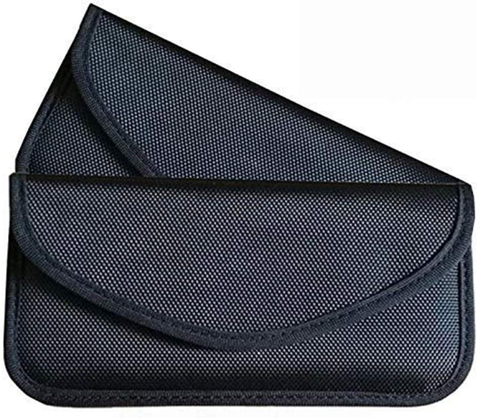RFID Signal Blocking Bag Shielding Pouch Wallet Case for Cell Phone Privacy Protection and Car Key FOB, Anti-Tracking Anti-Spying
