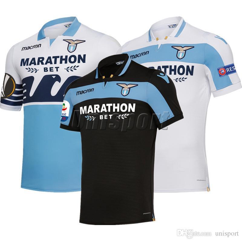 c0c2e10329 2018/19 SS Lazio Soccer Jerseys Immobile Parolo J.Correa Futbol Camisetas  Football Camisa Shirt Kit Maillot