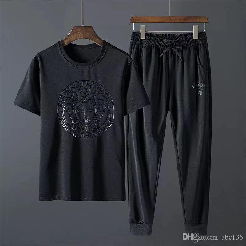 Vergrößern Sie berühmte Marke Designer Mensanzug für Herbst-Winter Mens Tracksuits Buchstabedruckes Stickerei lässige Männer Sport Jogger Trainingsanzug