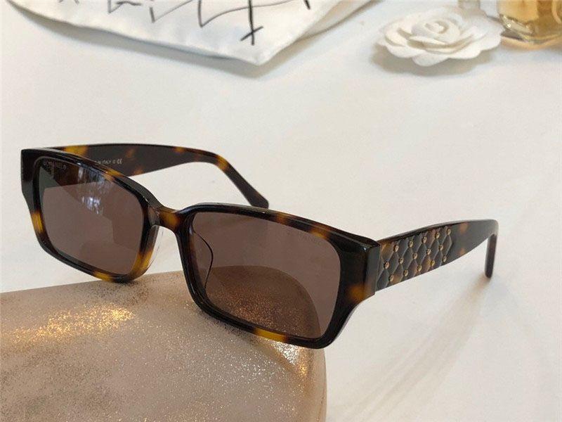 All'ingrosso-L'ultima vendita popolare occhiali da sole stilista montatura quadrata di alta qualità 4810 lente anti-UV400 con scatola originale