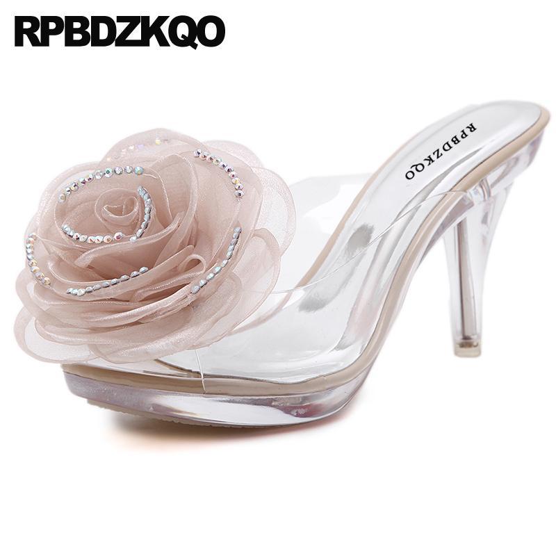 Platform Jewel High Heels Stiletto