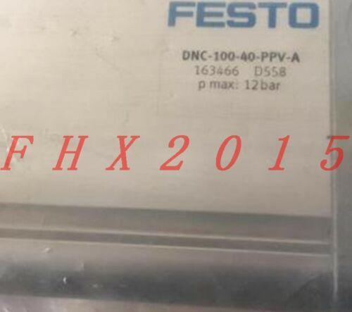 ONE NEW FESTO 163466 DNC-100-40-PPV-A