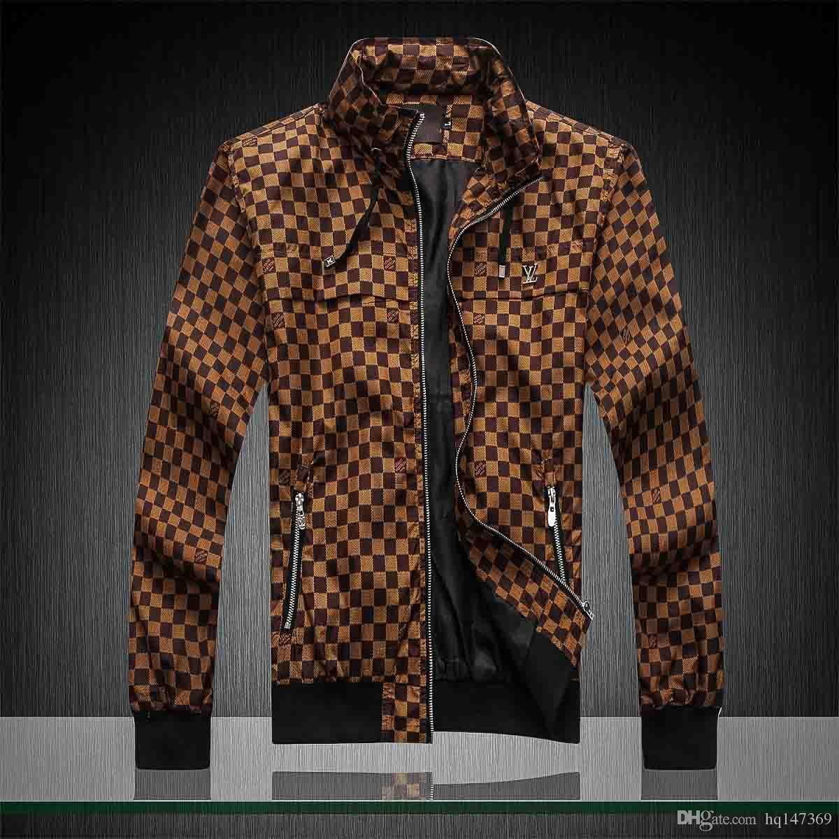 2020 New Style Designer uomini giacca invernale di lusso del cappotto di usura donne degli uomini a maniche lunghe Outdoor Uomo Abbigliamento Donna Abbigliamento medusa Jacket M-3XL