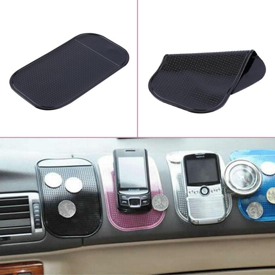 كبيرة الحجم 14 سنتيمتر * 8 سنتيمتر لطيف سهلة الاستخدام سوبر لزجة شفط سيارة لوحة ماجيك الوسادة حصيرة للهاتف PDA mp3 mp4 كل اللون