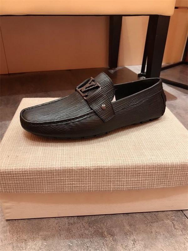 Louis Vuitton LV shoes vendita degli uomini di scarpe sportive di cuoio reale di marca di lusso scarpe da ginnastica alte top alla moda e traspirante formato 38-45 hy200605