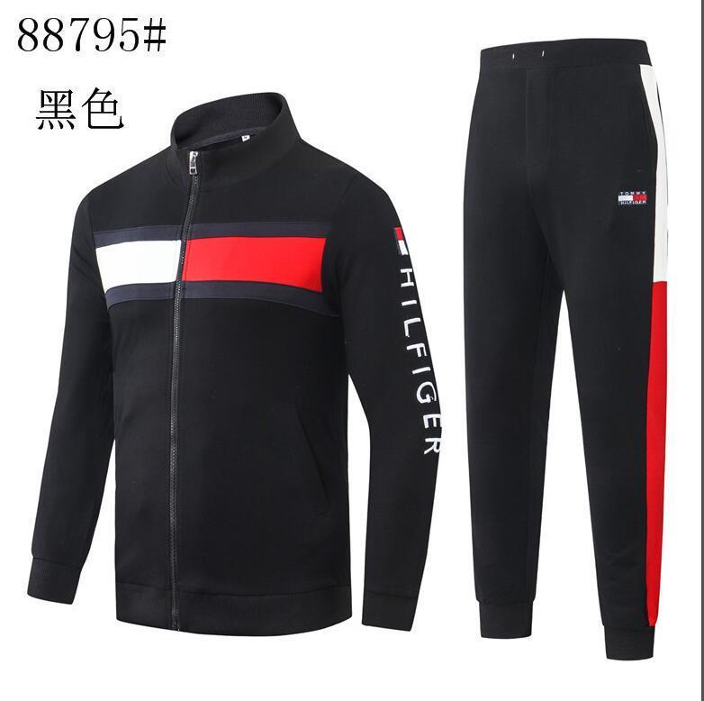 Yeni erkek spor giyim erkekler koşu takım elbise ilkbahar ve sonbahar eğlence erkek ve kadın genel marka uzun kollu ekleme spor seti