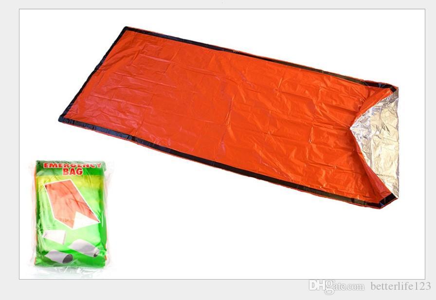 في الهواء الطلق أكياس النوم ارتفاع درجة حرارة واحدة PE حقيبة النوم عارضة ماء البطانيات مغلف التخييم المشي لمسافات طويلة للسفر البطانيات حقيبة النوم