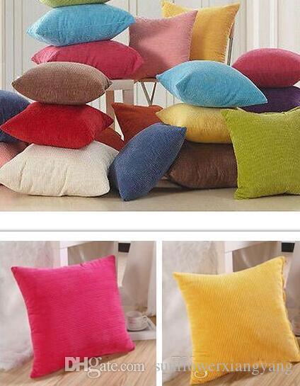 Cuscini Colorati Per Divani.Acquista Giardino Domestico Chicchi Di Mais Colorati Decorazioni