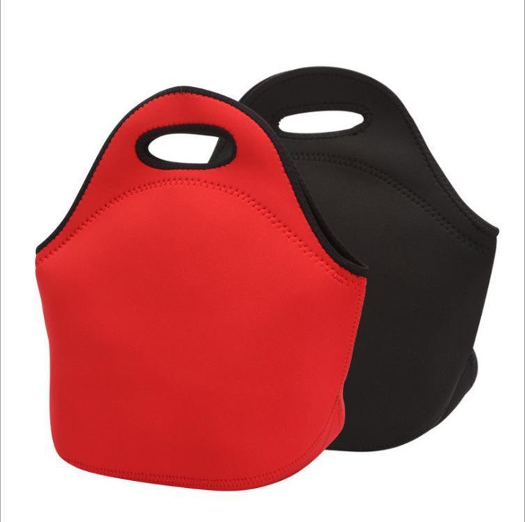 Неопрен сумка Болс Termica красных черный обед мешок кофе Тепловое обед Box пикник Коробка для детей женщин закуски