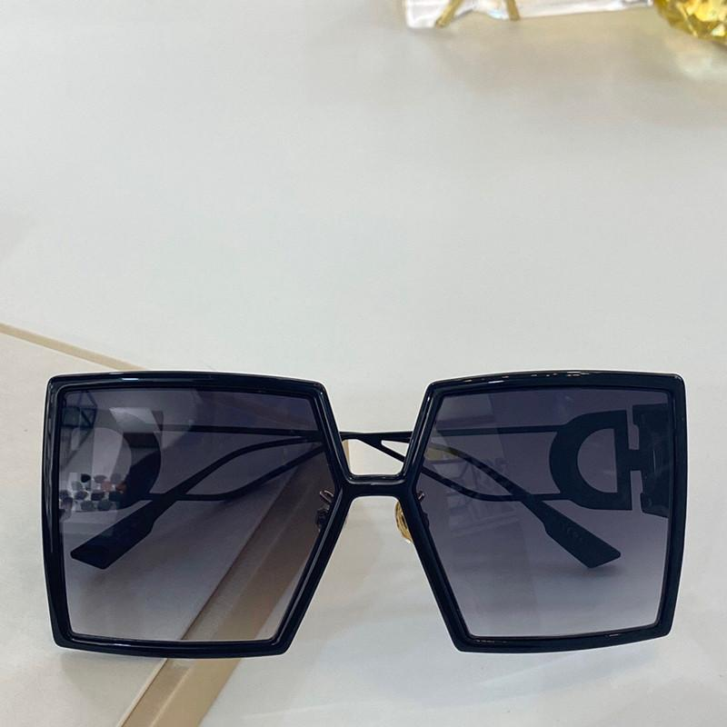 086 lunettes de soleil pour les femmes de protection spéciale UV Goggle Vintage grand cadre carré de qualité supérieure avec le paquet gratuit Venez