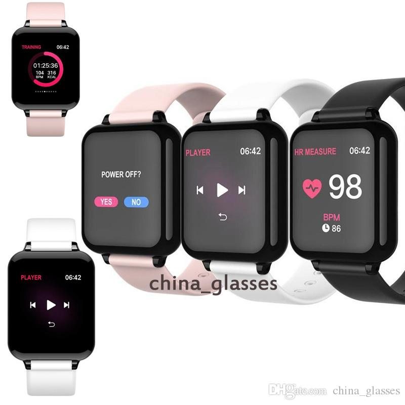 ساعة ذكية أعلى الساعات الذكية الرياضة للماء للهاتف Smartwatch معدل ضربات القلب رصد وظائف ضغط الدم للمرأة الرجال كيد 57 2021