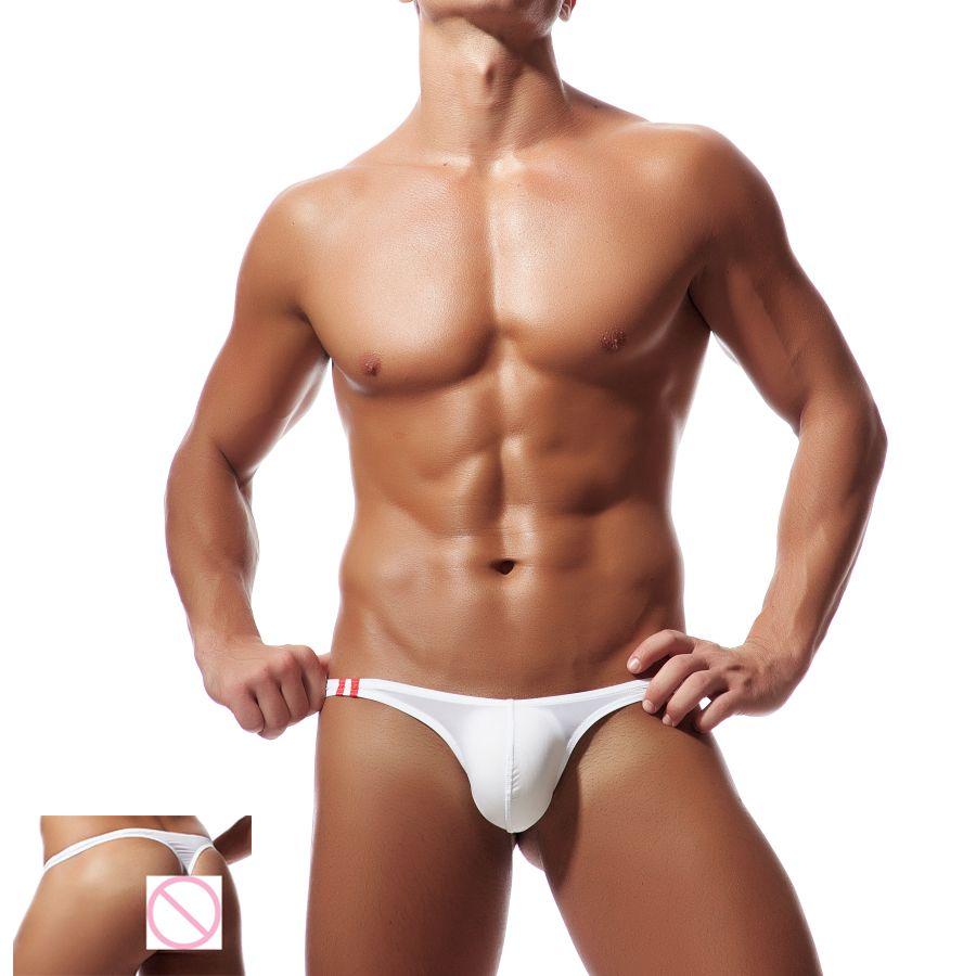 Mens G Strings 2018 New Sexy Low Rise Mens Tanga Transparente Pene Erótico Sissy Bragas Bikini Calzoncillos Jockstrap Hombres Cueca