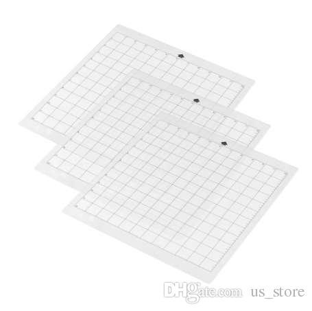 3шт замена мат для резки прозрачный клей мат с измерительной сеткой 8 на 12 дюймов для силуэта камея плоттер машина