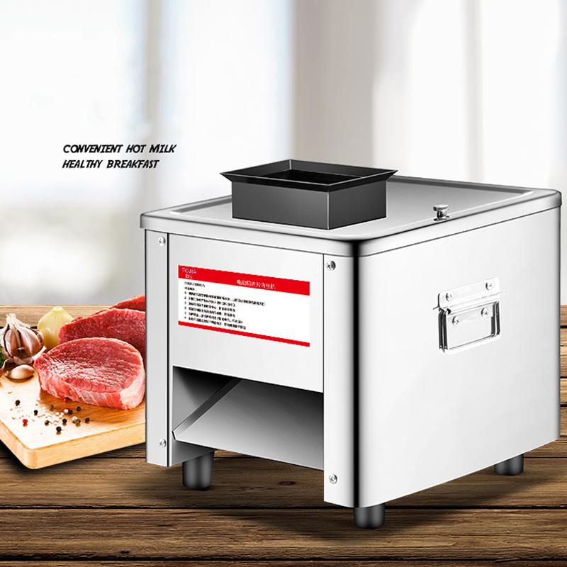 Wholesale - free shipping 220v QPJ Multifunction Desktop meat slicer 2-21MM adjustable Meat Grinder stainless steel for sell