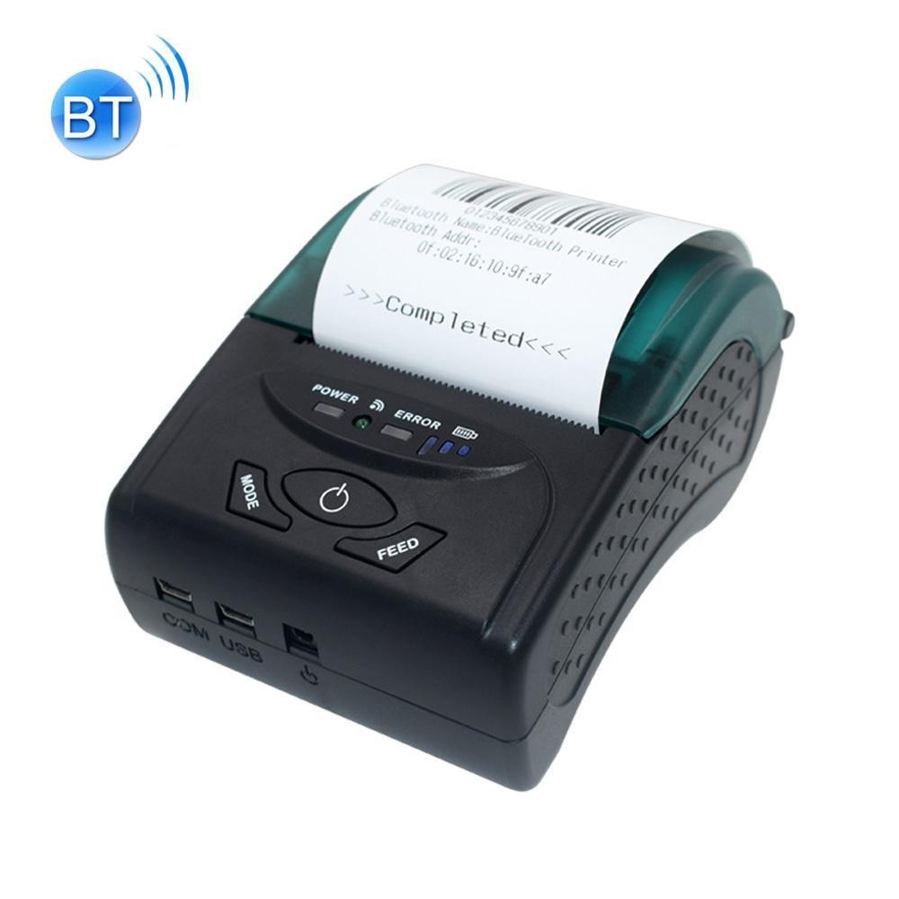 POS-5807 58 milímetros Portable USB porta de impressora Ticket Bluetooth térmica, máxima suportada térmica Tamanho do papel: 57x50mm