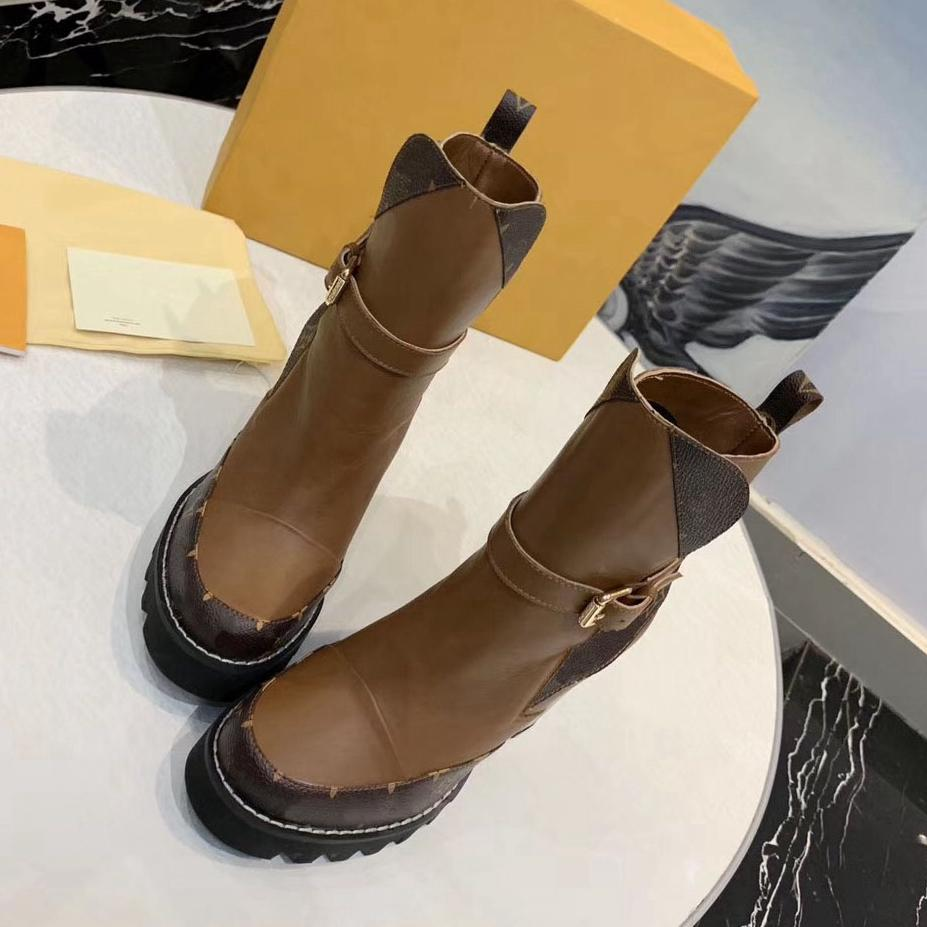 Classics Boot Mode und exquisite Damen Stiefel High Heels und echtes Leder Im Freien Art und Weise lädt martin Cowboy bag04 LV26