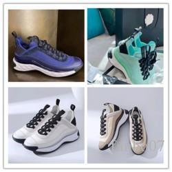 2020 chaussures de marque de vente chaud triple pour les femmes baskets plate-forme noir blanc formateurs Bred baskets mode sport exterieurs K043 casual