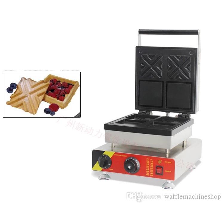 Ticari Hollow Waffle Koni Makinesi Popüler Sandviç Waffle Kase Makinesi Makinesi Yeni Elektrikli Dolma Waffle Makinesi Makinesi
