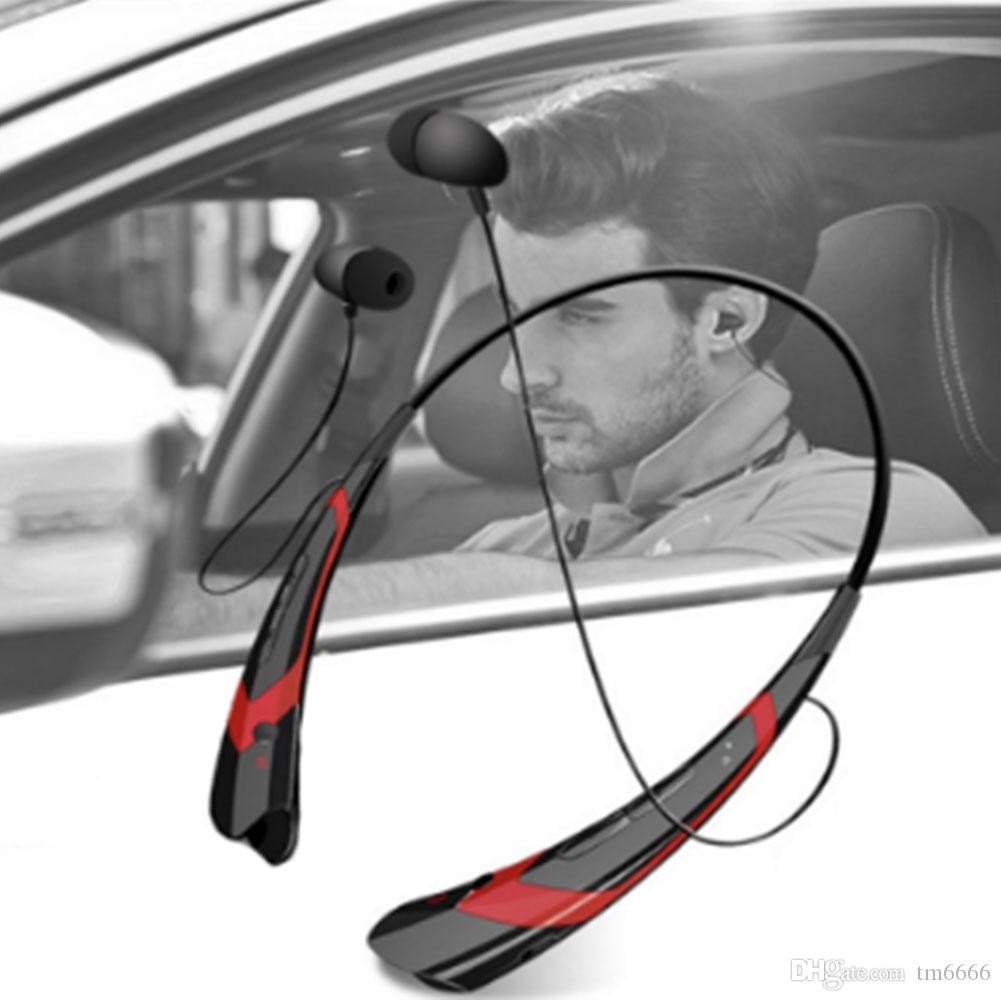 HBS760 беспроводной bluetooth наушники Спорт динамик Bluetooth с шейным наушники Bluetooth 4.0 стерео музыка наушники универсальный