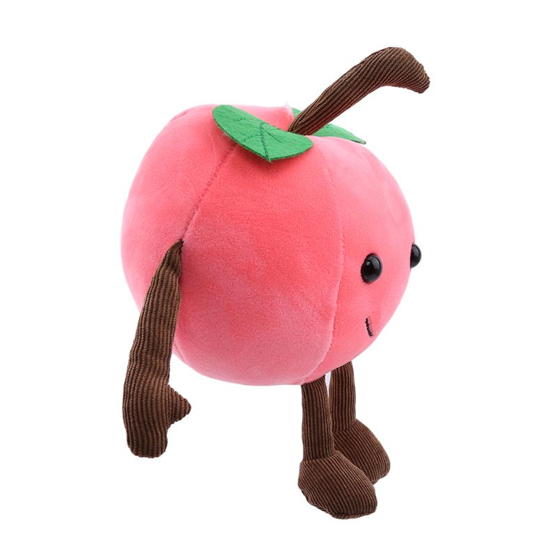 Hot Sale Baby Cute Fruit Soft Plush Toy Cartoon Fun Plant Cherry Stuffed Plush Toys Doll For Children Kids
