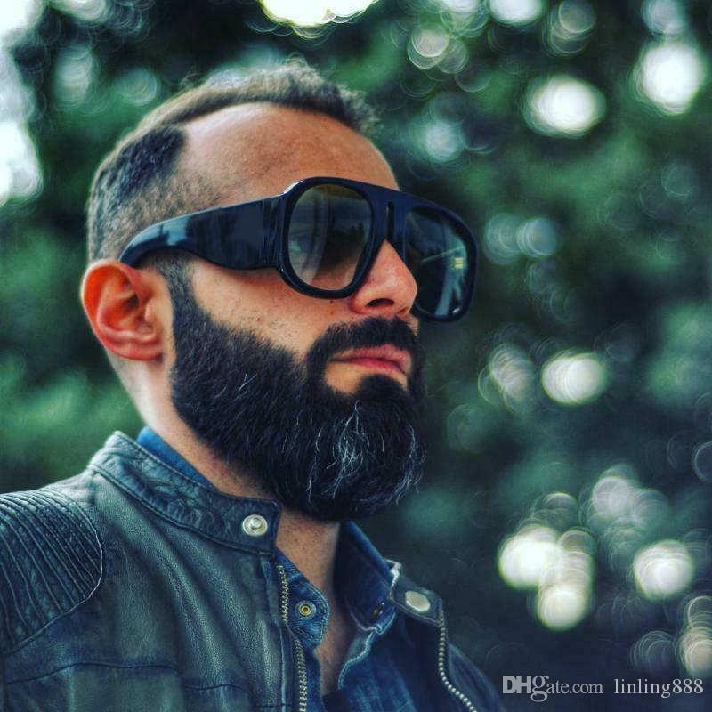 Designer Luxus Männer und Frauen Marke Maxi-Maske Sonnenbrille Mode Oval Sonnenbrillen UV-Schutz Linsenbeschichtung überzogen Rahmen mit Kasten-Kasten