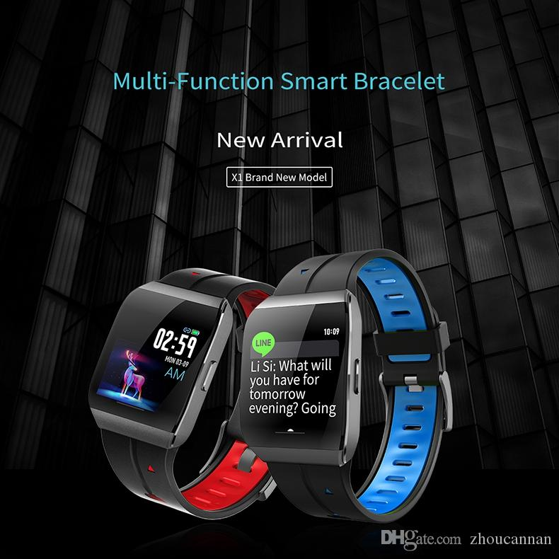 Smart Sport Bracelet X1 IP68 Waterproof Smart Watch Heart Rate Monitor Fitness Band Tracker Watch PK Fitbit Smart Watch