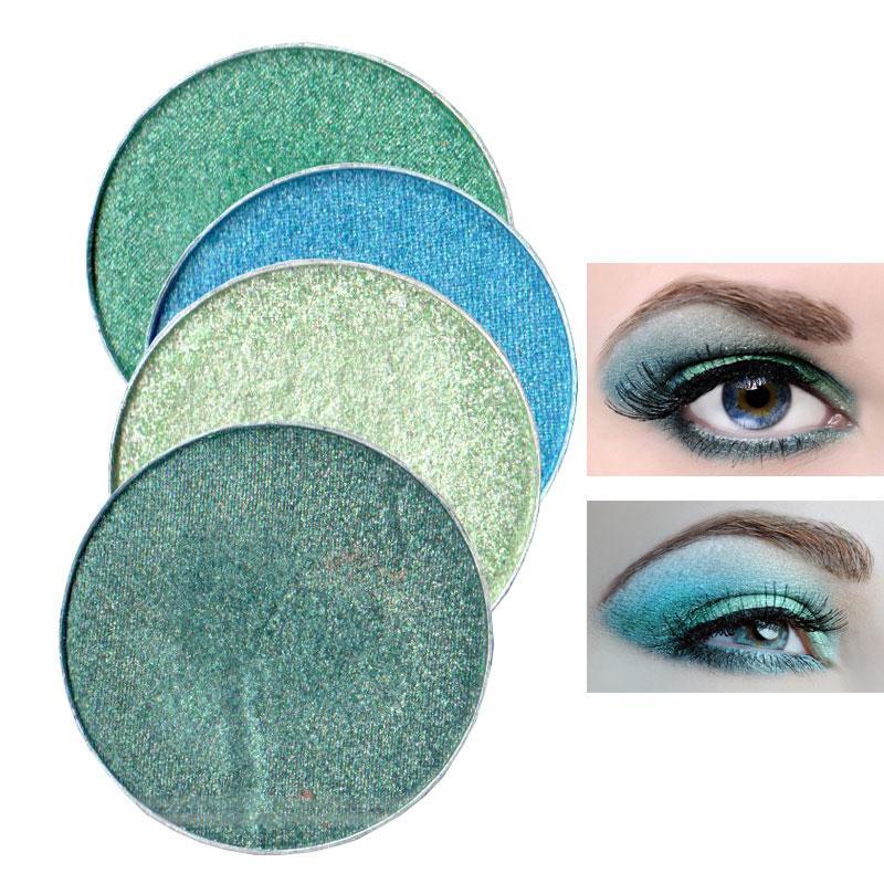 Crystal brillo color encantador salón del brillo INS manera DIY de sombra de ojos 27 colores pigmento de sombra de ojos cosméticos diamante